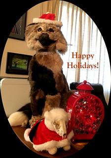 Happy Holidays from Iko & Alice
