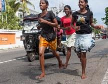 Running Girls Year In Sri Lanka April