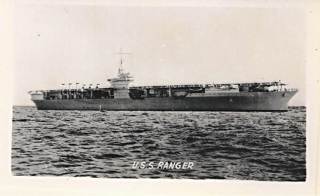 USS Ranger CV4 Aircraft Carrier  USS Ranger CV4