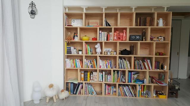 防止地震傾倒。書櫃固定架超方便 @ 結婚。幸福 :: 痞客邦