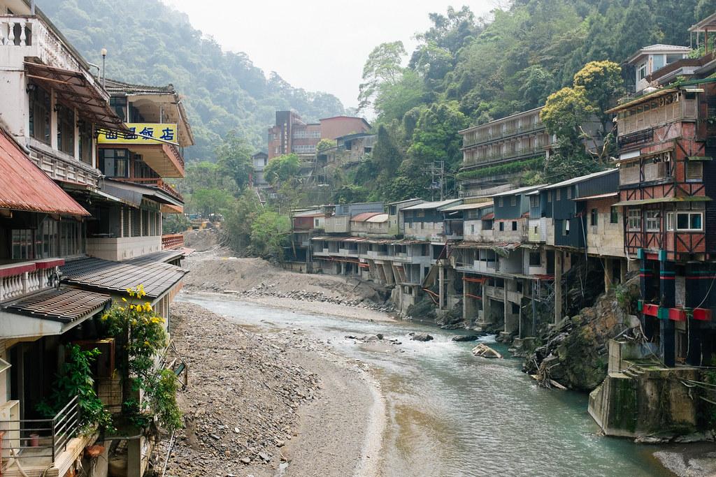 Vista de la aldea de Wulai