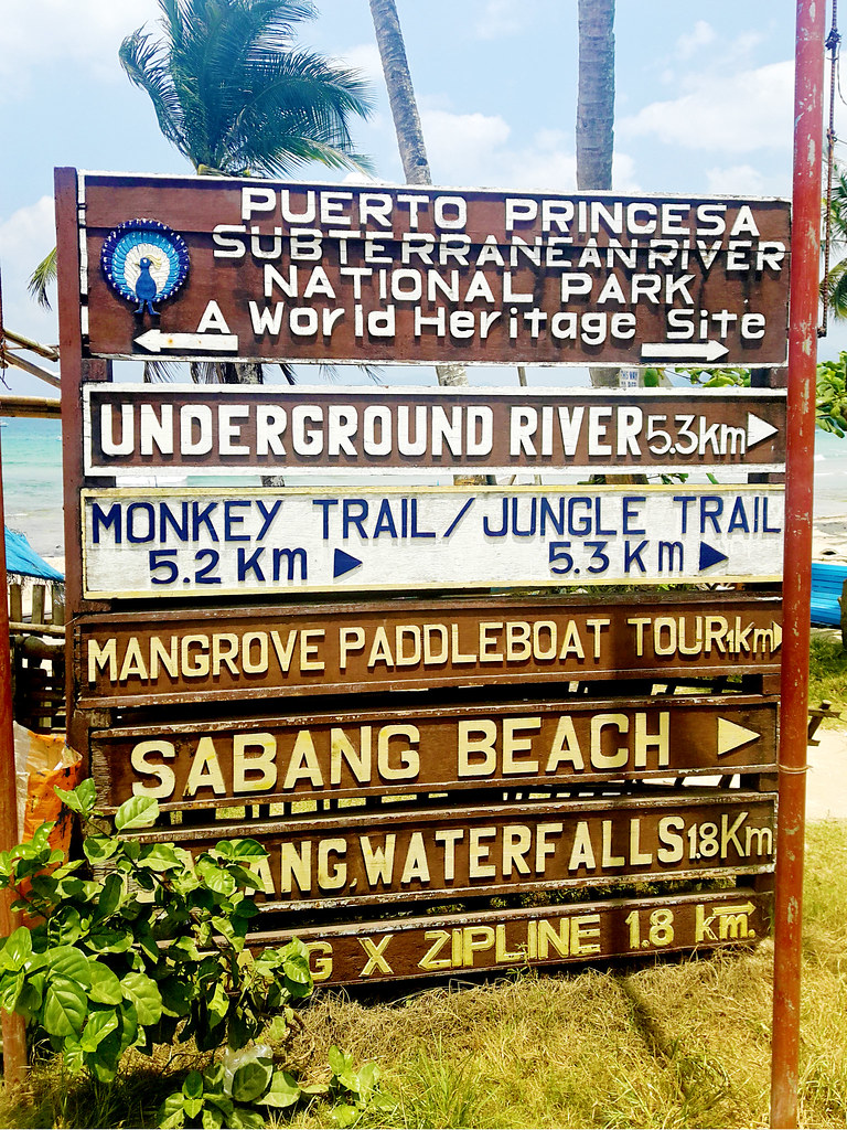 Directions in Sabang, Palawan