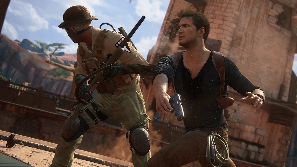 Uncharted 4: A Thief's End - 'Madagascar' Gameplay 1