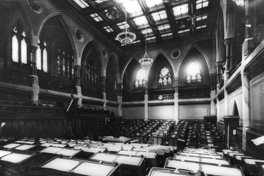 The original House of Commons  La Chambre des communes or  Flickr