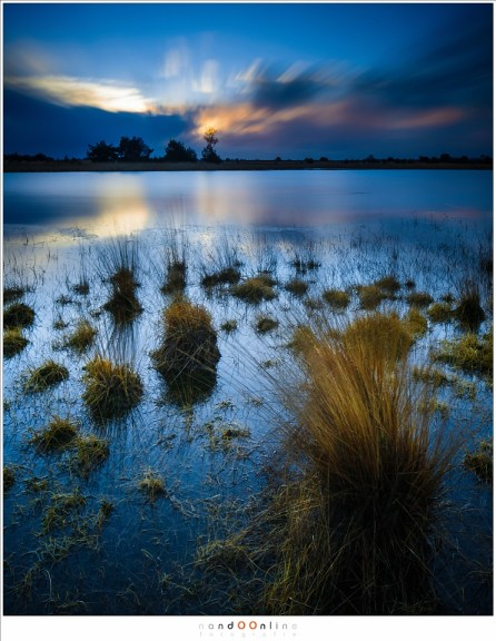 De zon is opgekomen, maar 'obscured by clouds'  (24mm - ISO100 - f/11 - t = 118 sec - Haida ND3,0 i.c.m. soft GND0,9)