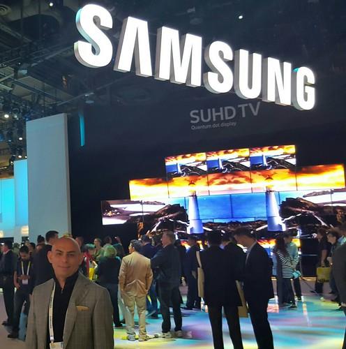 El Sr. Nasar constató la faceta innovadora de Samsung en el CES 2016, ahora viene el desafío del CES 2017