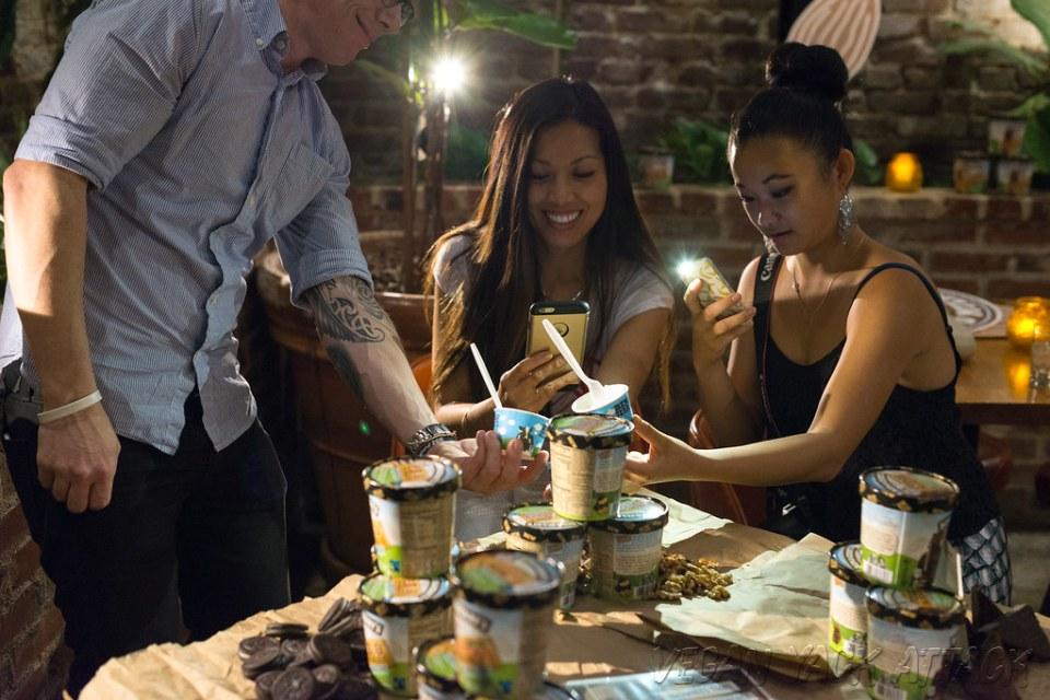Ben & Jerry's Goes Vegan Blogger Tasting Party