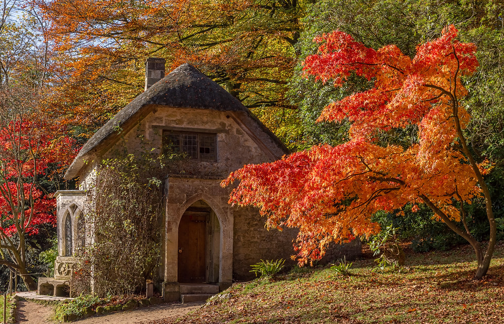 New England Fall Wallpaper Gothic House In Autumn Explore 45 Highest Position 08