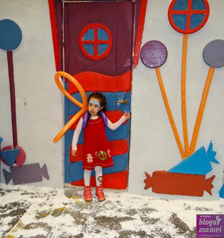 Alexia pictată ca în Frozen