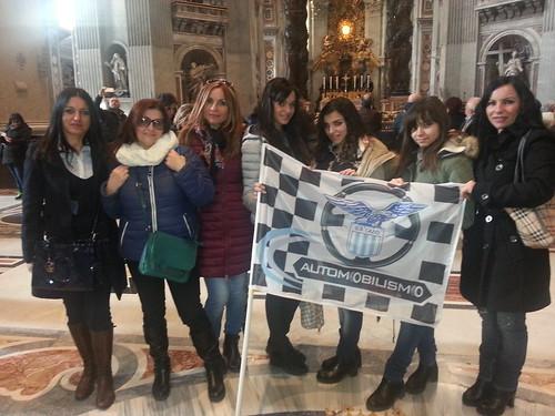 Rappresentanza femminile S.S. Lazio Automobilismo