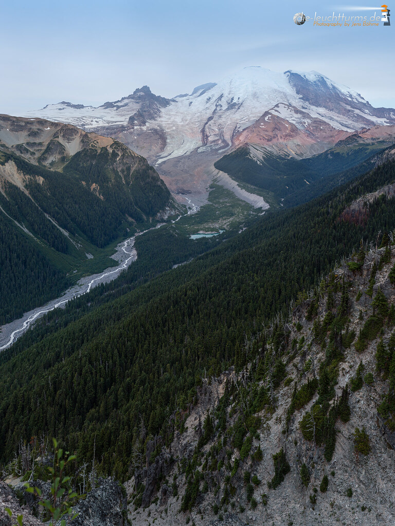 Mount Rainier with Emmons Glacier