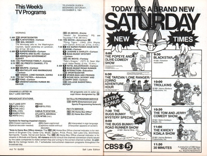 TV Guide 1981