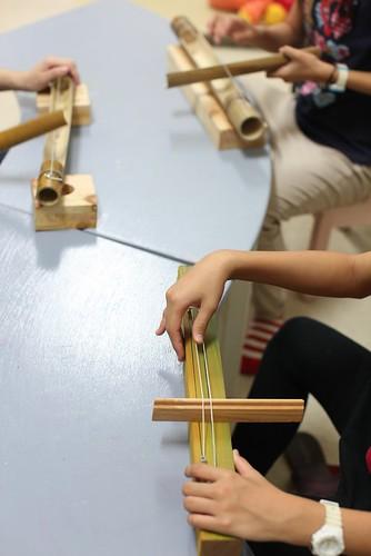 簡易弦樂器—單弦竹子樂器、雙弦木塊樂器(11.4ys)