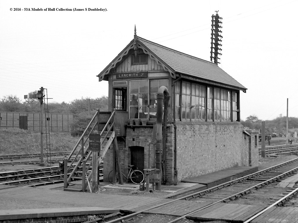 c1959  Langwith Junction Derbyshire  Best viewed