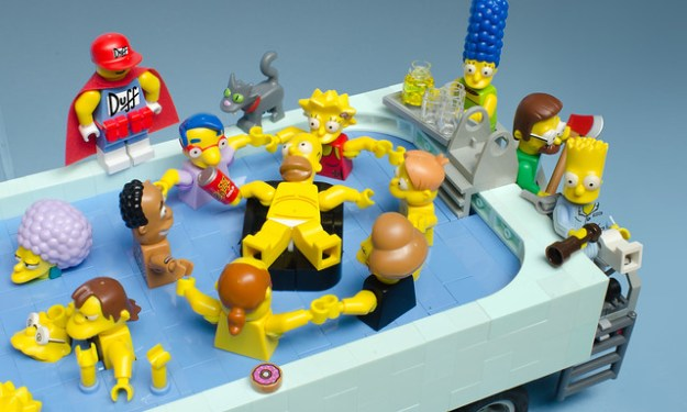 Springfield Pool-Mobile, Homer by Brian Williams
