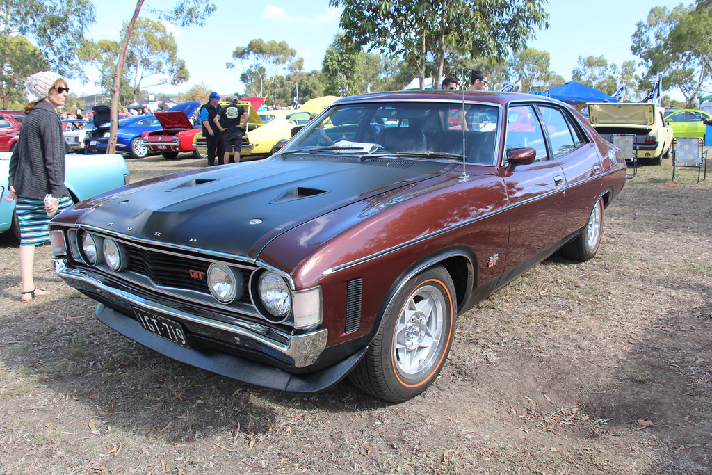 1972 Ford XA Falcon GT Sedan  Walnut Glow The XA Falcon