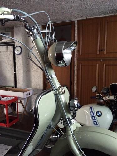 Anteriore Lambretta 150D