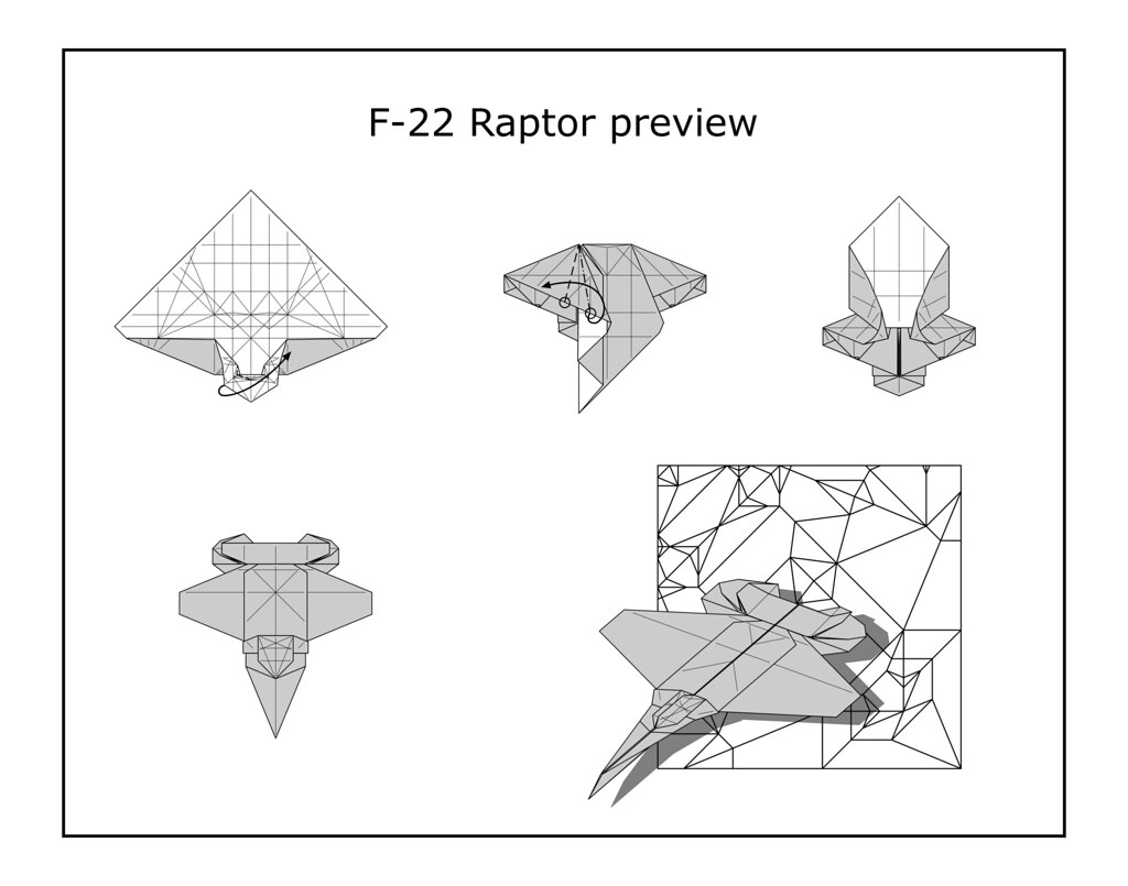 F 22 Raptor Diagram Preview