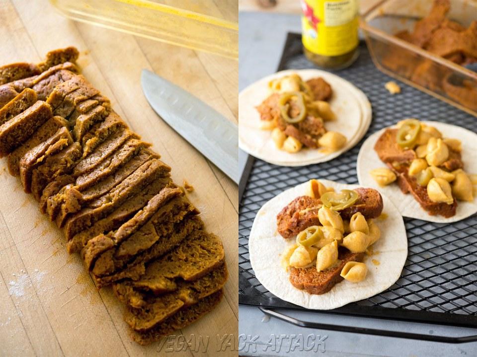 Smoked Brisket & Mac n Cheese Tacos