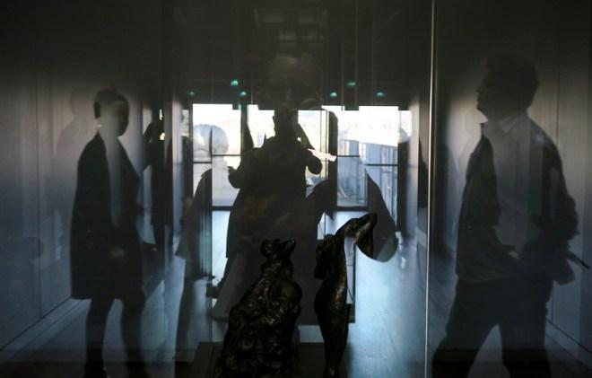 reflections at the Orsay