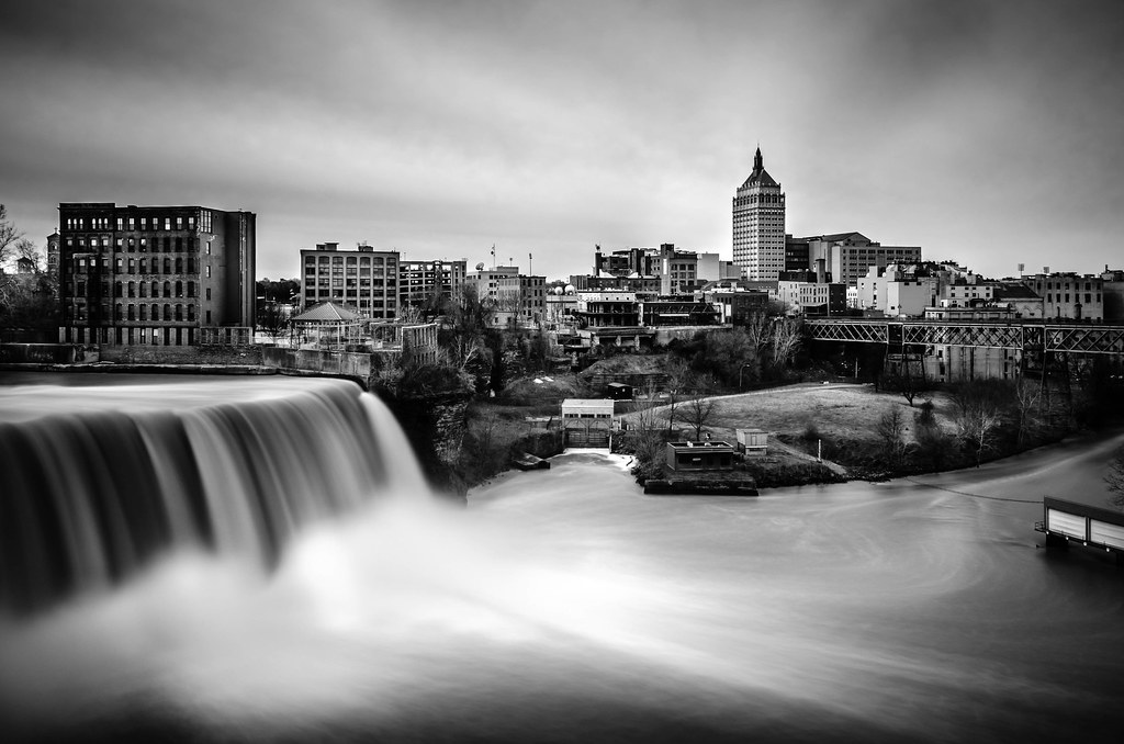 High Falls And Kodak Tower Rochester NY Is The Headquater Flickr