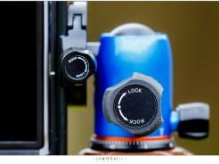 In portrait stand gaat perfect bij kleine camera's.