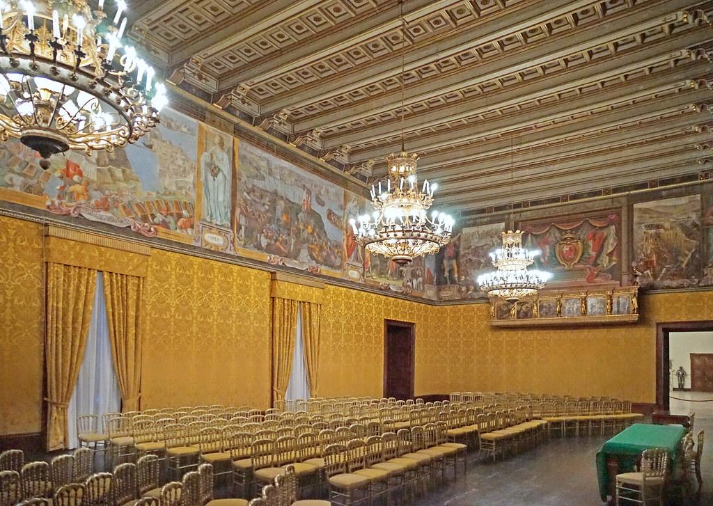 Le Palais des GrandsMatres La Valette Malte  La salle   Flickr