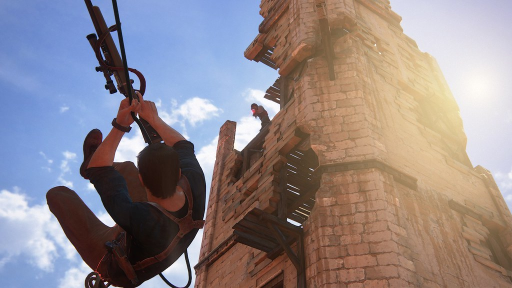 Uncharted 4: A Thief's End - 'Madagascar' Gameplay 2