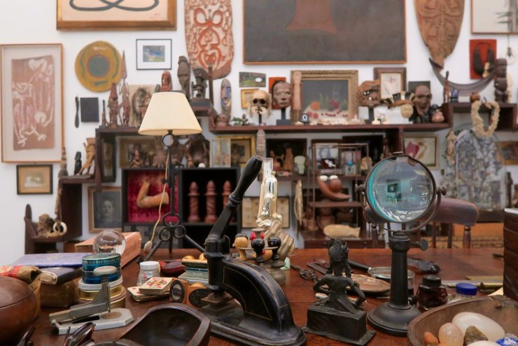 Man Ray's room of art and beautiful objects