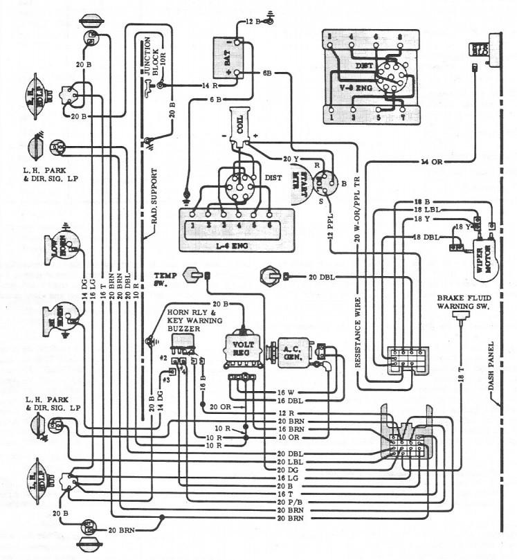 68 camaro alternator wiring