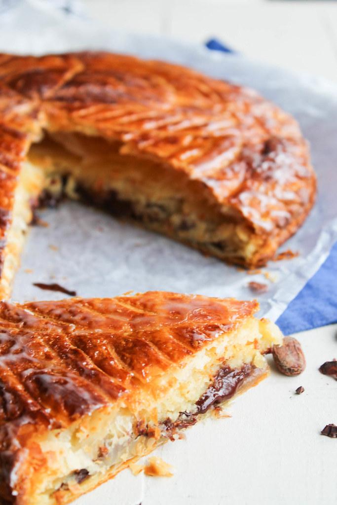 Galette des rois chocolat recette