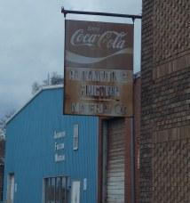 Coca-cola Sign-birmingham Al. Located