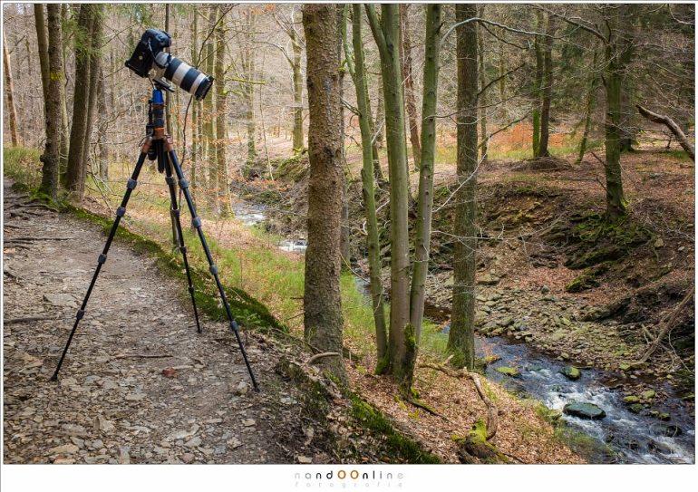 Zorg ervoor dat het statief dat gekozen wordt het gewicht van je camera en zwaarste objectief ruim aankan.