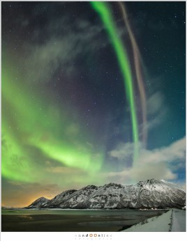 aurora borealis, lofoten, noorwegen