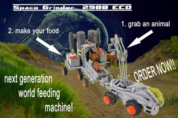Space Grinder 2900 by Rat Dude