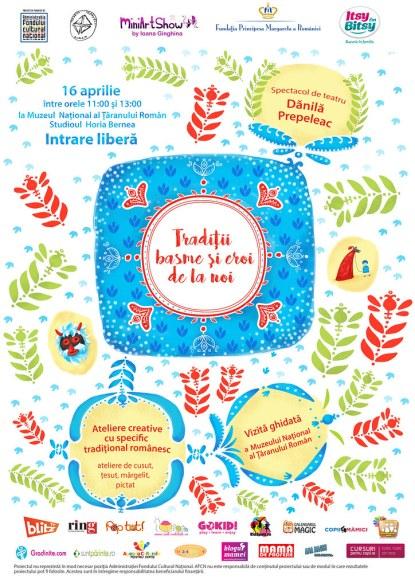 Afiş Tradiţii - Dănilă Prepeleac