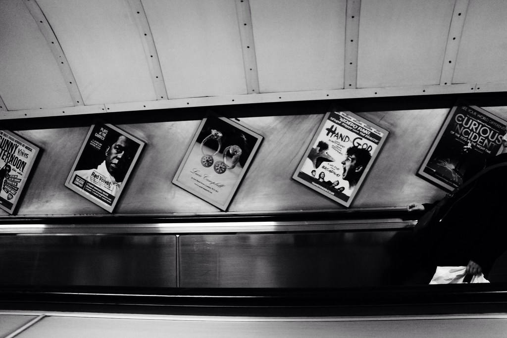 Oxford Circus Underground Station, London