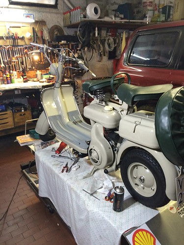 Lambretta 150D restaurata