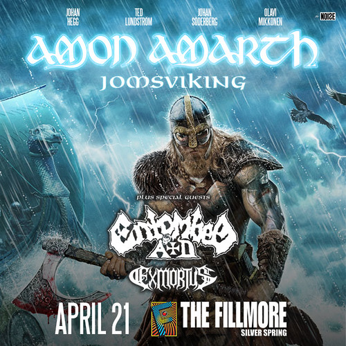 Amon Amarth at the Fillmore Silver Spring