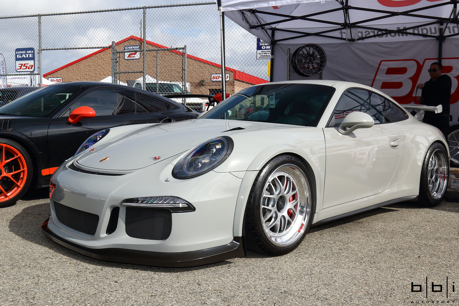 Fashion Grey Porsche 991 GT3 W BBS Motorsport E07 Amp BBi
