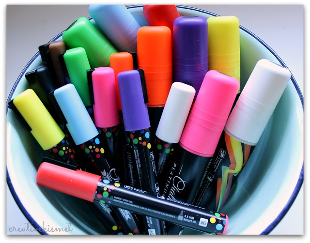 ChalkOla chalk markers, window markers, chalk pens, neon colors