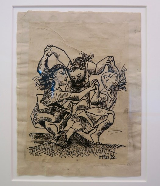 Picasso drawing