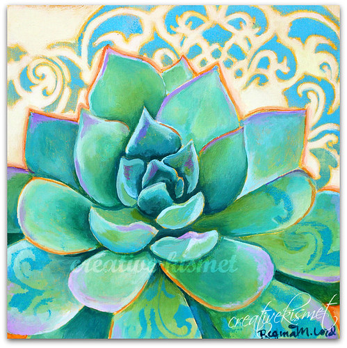 Succulent - Art by Regina Lord