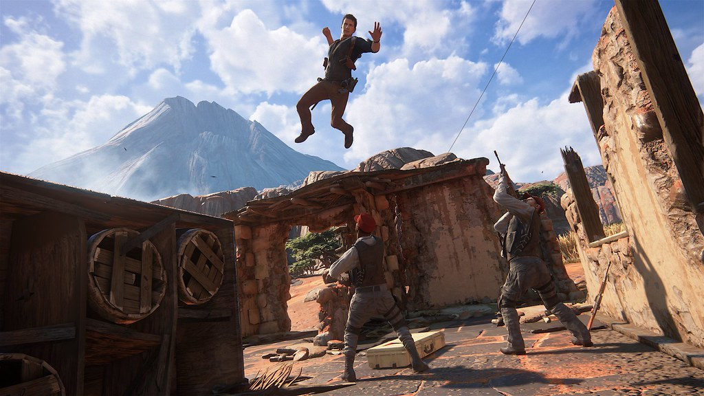 Uncharted 4: A Thief's End - 'Madagascar' Gameplay 5