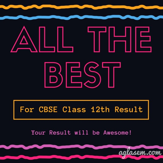 CBSE Class 12th Result 2018