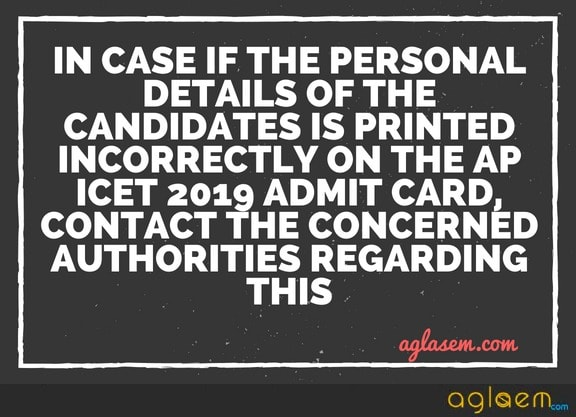 AP ICET 2019 Admit Card: Download Hall Ticket for AP ICET  %Post Title, %Post Category, AglaSem