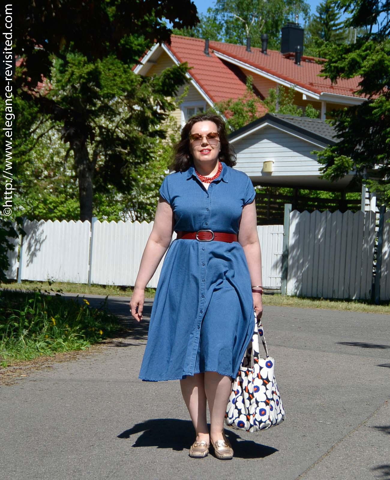 retro summer dress