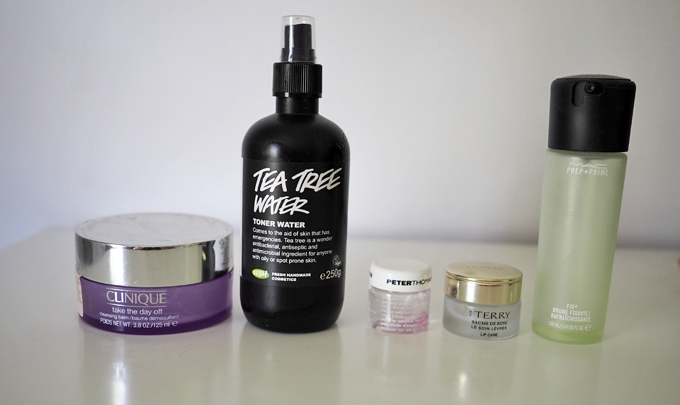 loppuneet clinique lush peter thomas roth by terry mac