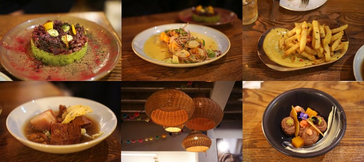 Ceviche, stew, chips, fermented beetroot & avocado crema and dessert from Andina | Notting Hill gluten free guide | West London | Kensington | Ladbroke Grove | Bayswater | Portobello Market | Gluten free Peruvian food | Gluten free London restaurants