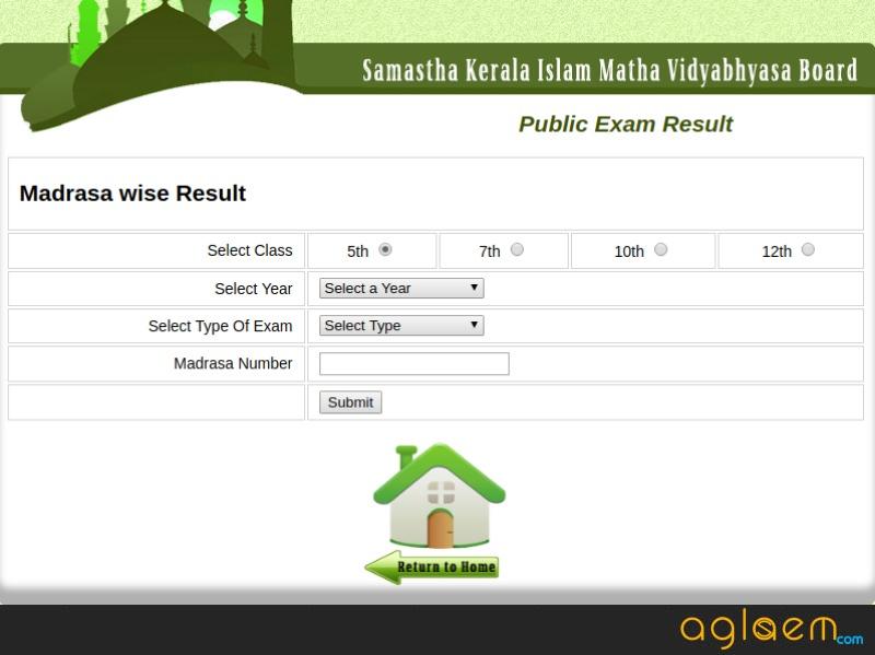 Samastha Kerala Result 2018 Madrasa Wise